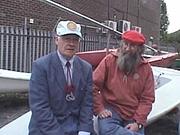 Author photo. Geoffrey Budworth (on left)