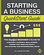 Starting a Business QuickStart Guide: The…
