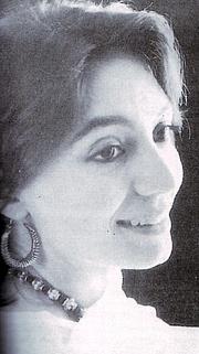 Author photo. Wikipedia, Tehmina Durrani in 1994