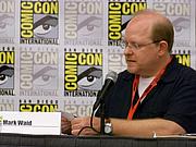 Author photo. Mark Waid, San Diego Comic-Con International 2009, photo by Loren Javier