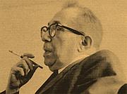 Author photo. Photographie du Professeur Leo Strauss