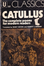 Catullus: the complete poems for modern…