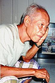 Author photo. Pramoedya Ananta Toer