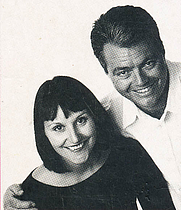 Author photo. Chris and Carolyn Caldicott