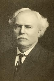 Author photo. Edmund Simon Lorenz. Portrait from page 318 of Biography of Gospel song and hymn writers (1914) by Jacob Henry Hall