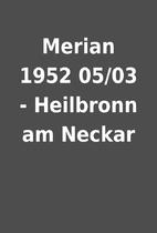 Merian 1952 05/03 - Heilbronn am Neckar
