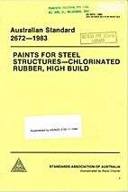 AS 2672 - 1983: Paints for Steel Structures…