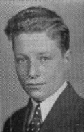 Author photo. Photo of Irving Kristol as a senior in high school. Date 1936 Source: Senior Recorder, yearbook of Boys High School, Brooklyn, New York