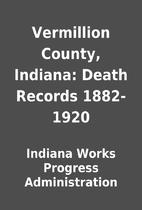 Vermillion County, Indiana: Death Records…