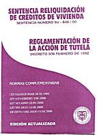 Reglamentación de la acción de tutela by…