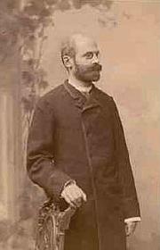 Author photo. Émile Durkheim, photographie prise à Leipzig en 1886