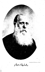 Author photo. Image from <b><i>Kol kitve Mosheh Leb Lilienblum</i></b> (1913) by Moses Löb Lilienblum