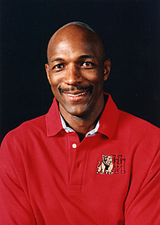 Author photo. Clyde Drexler. UH Photographs Collection.