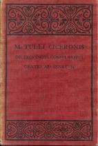 M. Tulli Ciceronis De Provinciis…