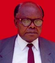 Author photo. Bethwell Allan Ogot [credit: African Studies Association]