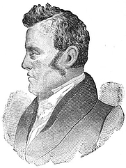 Author photo. Image from <b><i>Reminiscences of Dr. Spurzheim and George Combe</i></b> (1881) by Nahum Capen