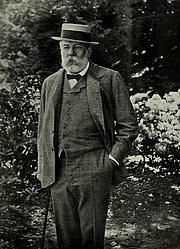 Author photo. Charles Sprague Sargent [source: The World's Work, 1901]