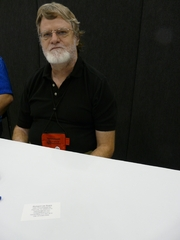 Author photo. Richard Lee Byers at Gen Con Indy 2008 in Indianapolis, Indiana, USA, photo by Wikipedia user Piotrus