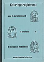 Keuringsreglement voor de surveillancehond,…