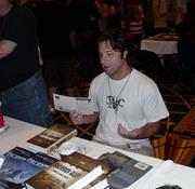 Author photo. Ronald Malfi at HorrorFind September 4, 2010 photo by Nathan Filizzi (yoyogod)