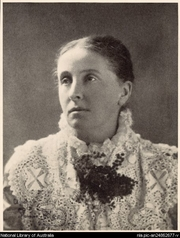 """Author photo. Spencer Shier, 1884-1950. Portrait of Ada Cambridge [picture] [1917-1926]. <br><a href=""""http://www.nla.gov.au"""">National Library of Australia</a>, nla.pic-an24862677"""