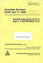 AS 2376 - 1980: Plastics Building Sheets -…