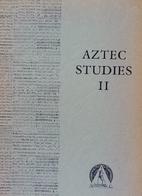 Sierra Nahuat Word Structure (Aztec Studies,…