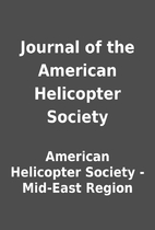 Journal of the American Helicopter Society…