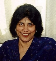 Author photo. Priya Wickramasinghe. Photo from <a href=&quot;http://dialspace.dial.pipex.com/town/street/xdw20/index.html&quot; rel=&quot;nofollow&quot; target=&quot;_top&quot;><i>Priya's Sri Lankan and Indian Cookery</i></a>.