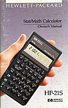 Hewlett-Packard HP-21S Stat/Math Calculator…