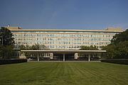 """Author photo. Original Headquarters Building (<a href=""""https://www.cia.gov"""">cia.gov</a>)"""