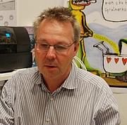 Author photo. Swedish cartoonist and writer Joakim Pirinen at the Göteborg Book Fair 2010 [source: Boberger at Wikipedia]