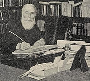 Author photo. Walter W. Skeat [credit: Find A Grave user julia&keld]