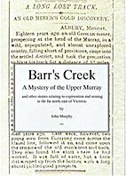 Barr's Creek : a mystery of the Upper…