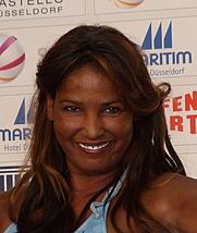 Author photo. Nadja Abd el Farrag in 2013 [credit: Wikipedia user 9EkieraM1]