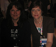 Author photo. Brett Paesel (left)and Erika Schickel <br>at 2007 LA Times Festival of Books <br>  Copyright © 2007 <a href=&quot;http://ronhogan.tumblr.com&quot;>Ron Hogan</a>
