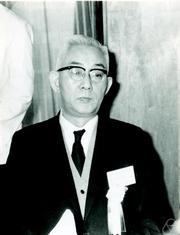 Author photo. Kosaku Yosida. Photo by Konrad Jacobs.