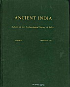 Ancient India: Bulletin of the…