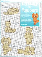 Crazy for Yoga Bears by Lucie Heaton