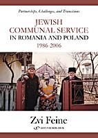 Jewish Communal Service in Romania and…