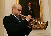Author photo. White House photo by Chris Greenberg, 2008.