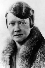 Author photo. Katharine Anthony (1877-1965)