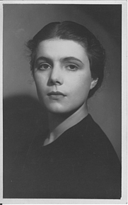 Author photo. Agent's photo for my mother as a young actress, early 1930s