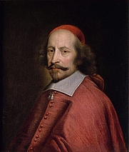 Author photo. Portrait of cardinal Jules Mazarin (from 1658 until 1660).By Pierre Mignard (1612–1695)