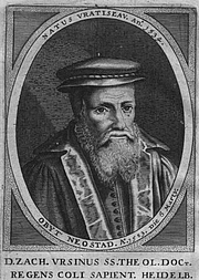 Author photo. Zacharias Ursinus (1534—1583)