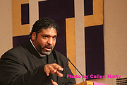 """Author photo. """"Rev. Dr. William Barber"""" by Callen Harty"""