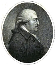 Author photo. Charles Macklin. Frontispiece from Memoirs of the life of Charles Macklin, esq. (1799) by James Thomas Kirkman.