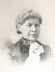 Author photo. Martha Joanna Nash Lamb [aka Aunt Mattie] (1829-1893), Buffalo Electrotype and Engraving Co., Buffalo, N.Y.