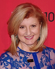 Author photo. Arianna Huffington. Photo by David Shankbone.