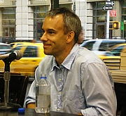 "Author photo. <a href=""http://en.wikipedia.org/wiki/User:David_Shankbone"">David Shankbone</a>"